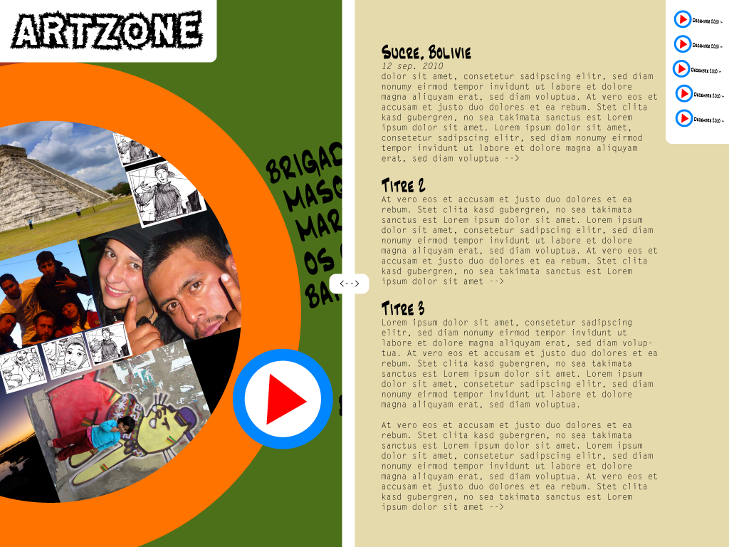Interface Artzone