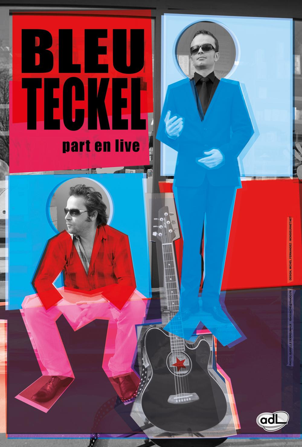 Bleu Teckel affiche