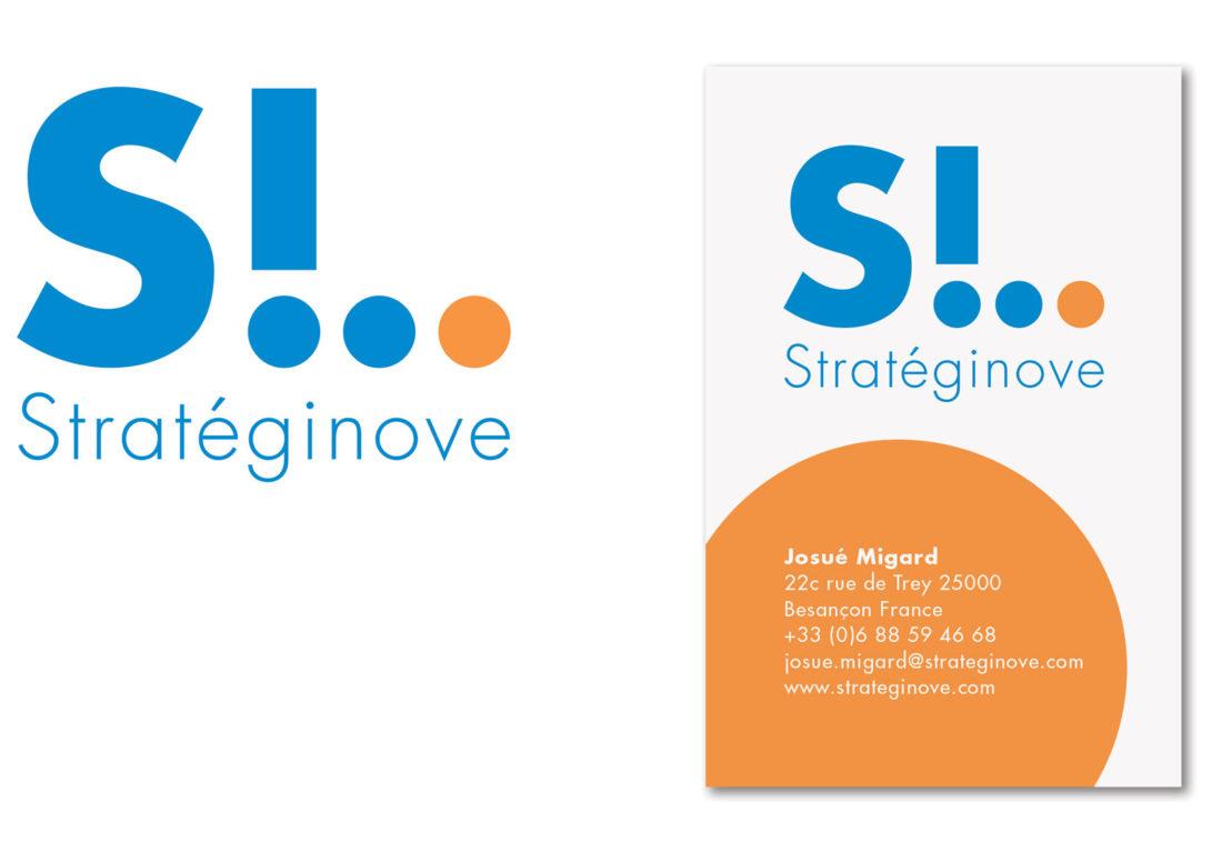 Stratéginove logo+carte de visite